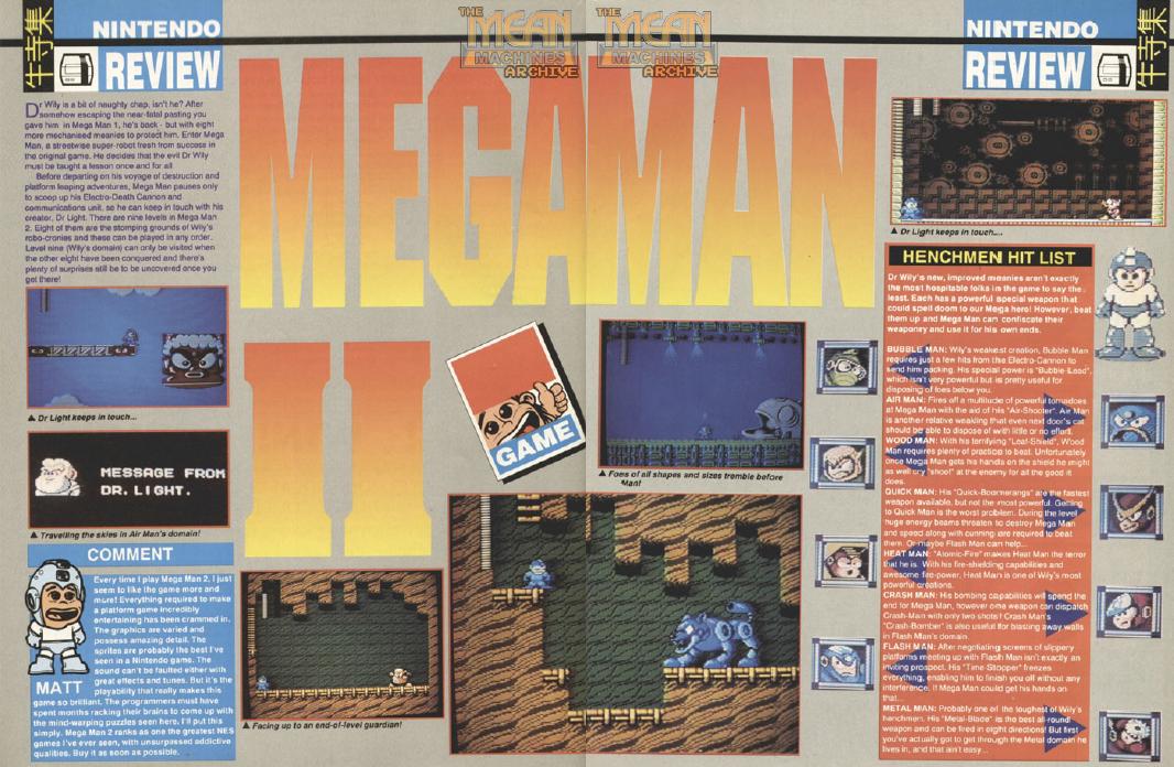Megamn mean 1 et 2